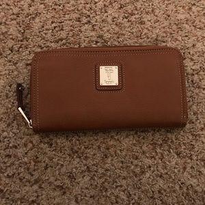 Tignanello Leather Zip Around Wallet